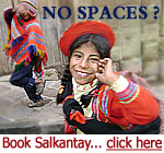 book salkantay trek if no Inca Trail Permits are available