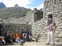 Our guide who educated us on all things Inca and Machu Picchu, Coronel Human Raul!