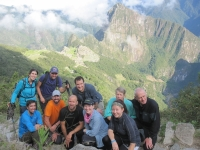 Our Family! We made it to Machu Picchu. Smiling Happy People!