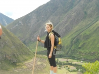 Lauren Inca Trail May 05 2014