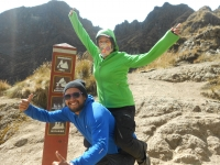 Michael-Hirini-Teriki-Tauwhato Inca Trail July 05 2014-3