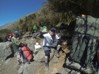 Adriano Inca Trail August 21 2014