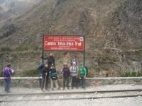Machu Picchu trip August 30 2014