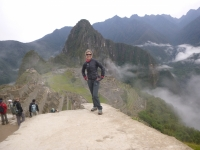 Machu Picchu vacation January 01 2015