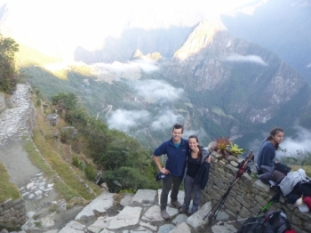 Lucy Inca Trail August 30 2015-2