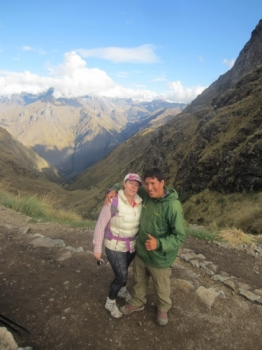 Tracey Inca Trail October 02 2015