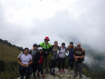 Kathleen Inca Trail October 11 2015