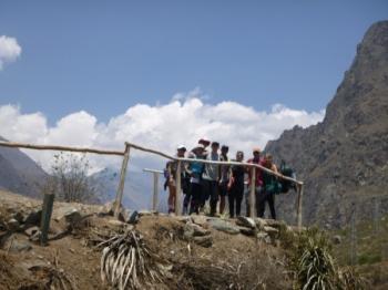 Matthew Inca Trail October 11 2015