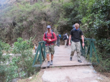 Peter Inca Trail October 24 2015