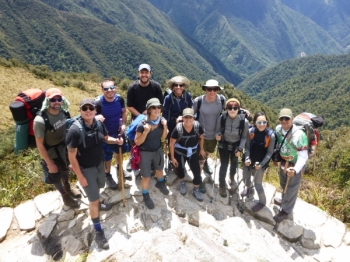 Machu Picchu trip January 01 2016