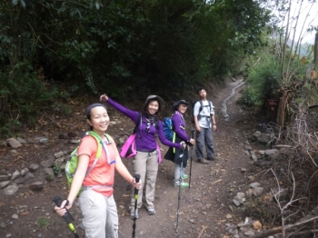 Wan-Chun Inca Trail October 25 2015