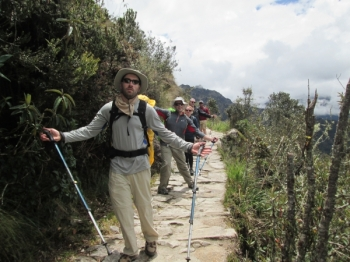 Mathew Inca Trail December 26 2015