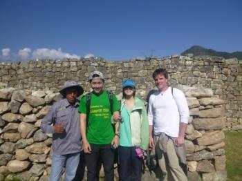 Machu Picchu trip August 22 2015