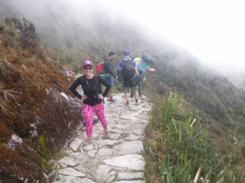 Kirstie Inca Trail November 26 2015-2