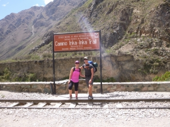 Kirstie Inca Trail November 26 2015