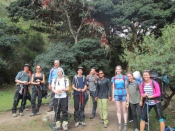 Ronald Inca Trail November 28 2015-2