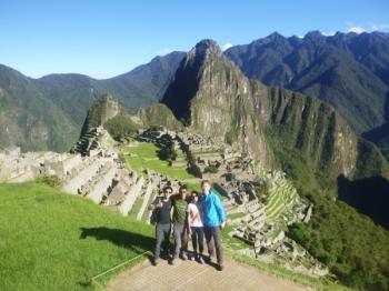 Machu Picchu trip December 09 2015