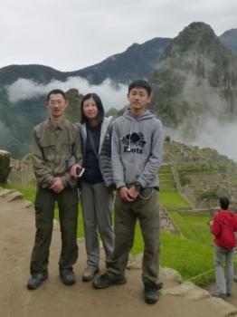Machu Picchu trip December 21 2015