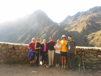 Fraziska Inca Trail September 30 2015