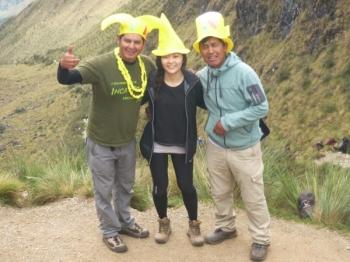 CHAEYOON Inca Trail December 31 2015-4