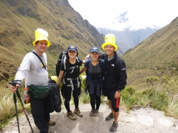 CHAEYOON Inca Trail December 31 2015