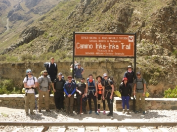Carl-Jimmie Inca Trail December 03 2015