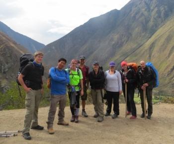 Abby Inca Trail October 24 2015-2