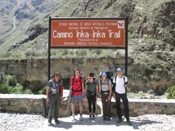 Emelie-Anna Inca Trail November 18 2015