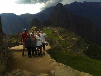 Machu Picchu trip January 13 2016
