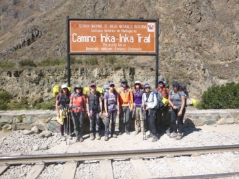 Allison Inca Trail June 20 2016