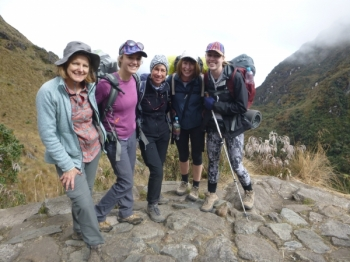 Deirdre Inca Trail June 20 2016