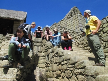 Machu Picchu vacation January 11 2016