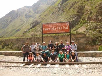 Machu Picchu trip January 09 2016
