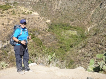 Gayla-Concepcion Inca Trail June 17 2016