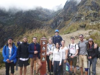 Amélie Inca Trail April 25 2016-2
