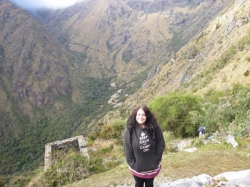Lucy Inca Trail June 19 2016-2