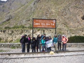 Shreya Inca Trail April 30 2016-2