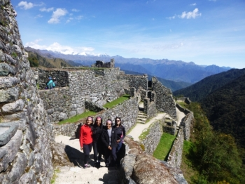 Machu Picchu vacation April 30 2016