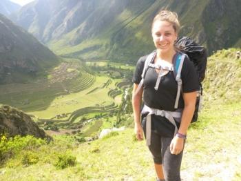 Valérie Inca Trail March 17 2016-2