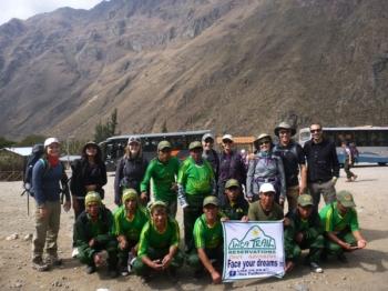 Kristina Inca Trail August 19 2016