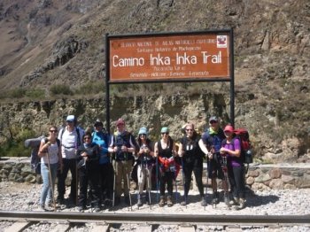 Machu Picchu vacation August 23 2016