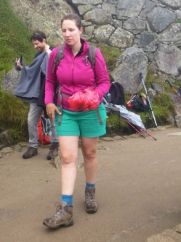 Aline Inca Trail April 10 2016-2