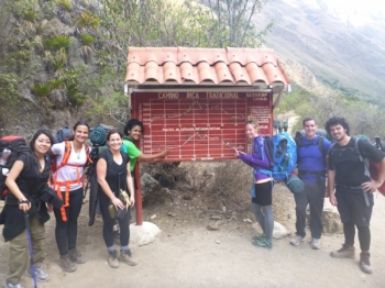 Marie Inca Trail August 31 2016-2