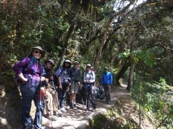 Christina Inca Trail August 19 2016-2