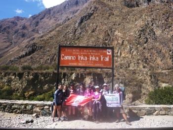 Machu Picchu trip August 25 2016