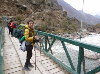 Karen-Tatiana Inca Trail September 26 2016