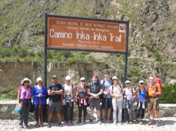 Tise Inca Trail March 22 2016