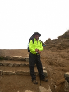 Pedro-Eduardo Inca Trail April 07 2016