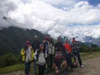 Machu Picchu trip April 18 2016