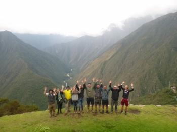 Jens-Jorgen Inca Trail October 24 2016